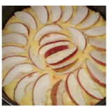 Torta panettone, crema pasticcera e mele – ricetta